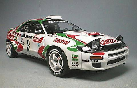 Toyota En Rallye