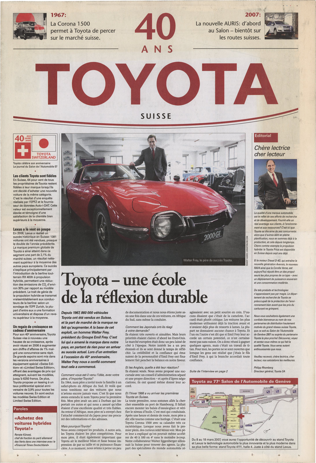 Toyota Business Plan